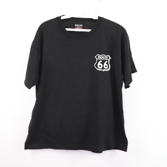 1b07cb0fd0d Vintage Shirts | 90s Mens Small Route 66 Spell Out Graphic T Shirt ...